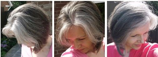 women with grey regrowth - Google Search