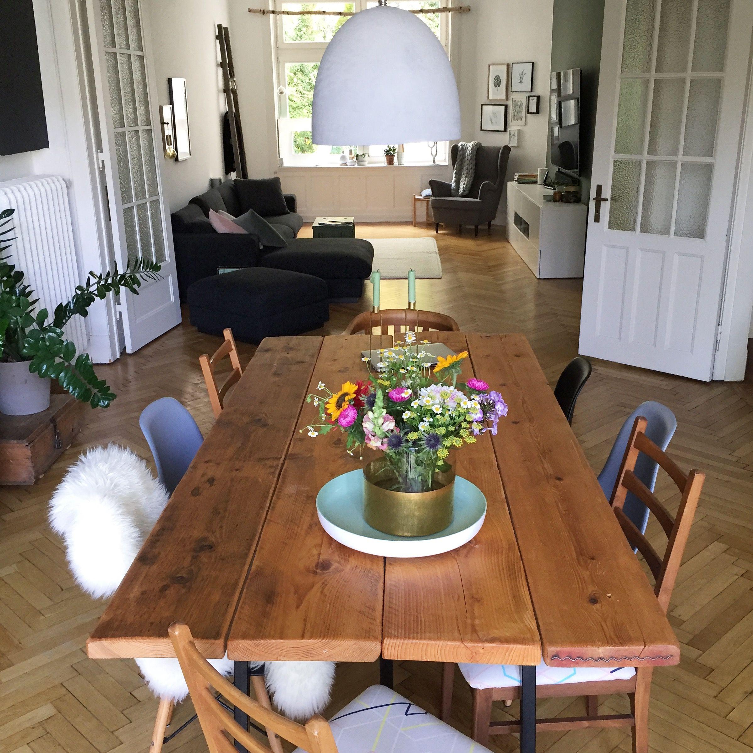 Esstisch, diningtable, diningroom, Esszimmer, livingroom ...