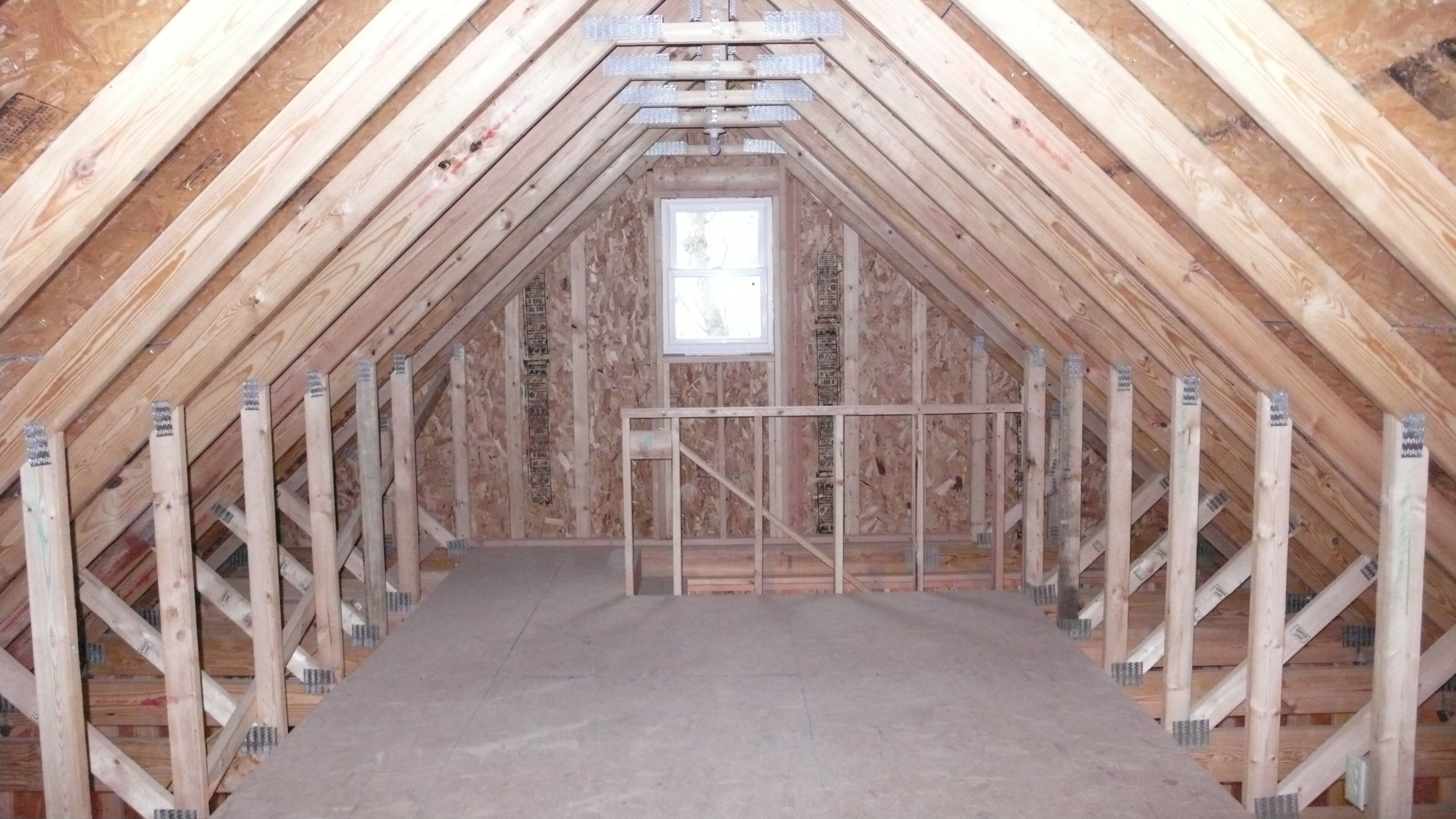 St Paul Two Story Garages Attic Rooms Attic Flooring Attic Truss
