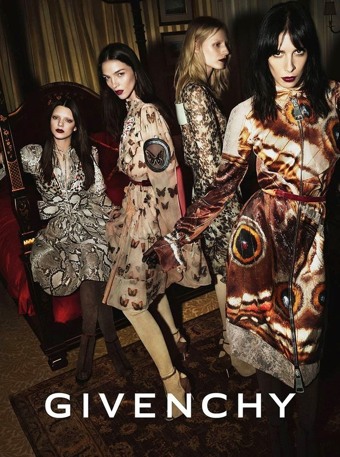 Givenchy Ad Campaign Fall/Winter 2014/2015