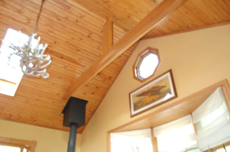 tongue in groove pine ceiling for where we are vaulting | for the