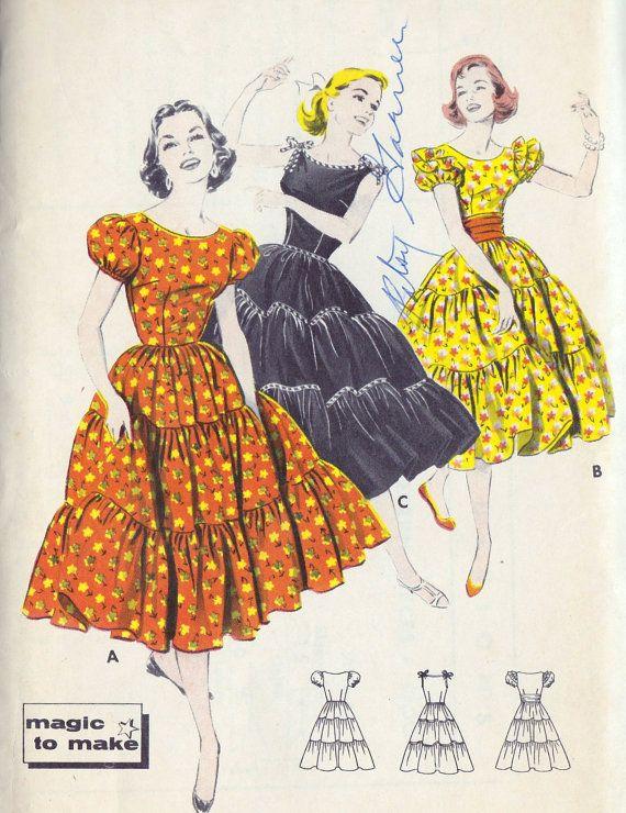 1950s Dance Dresses
