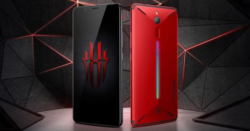Nubia's new gaming phone gets shoulder buttons and 10GB RAM | Social