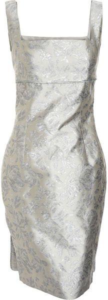 Barbara Tfank Panel Back Dress -