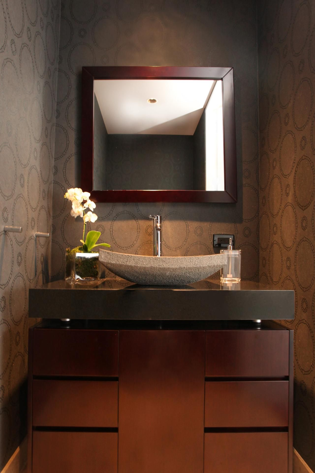 Powder Room Vessel Sink Ideas Powder Room Vanity Powder Room