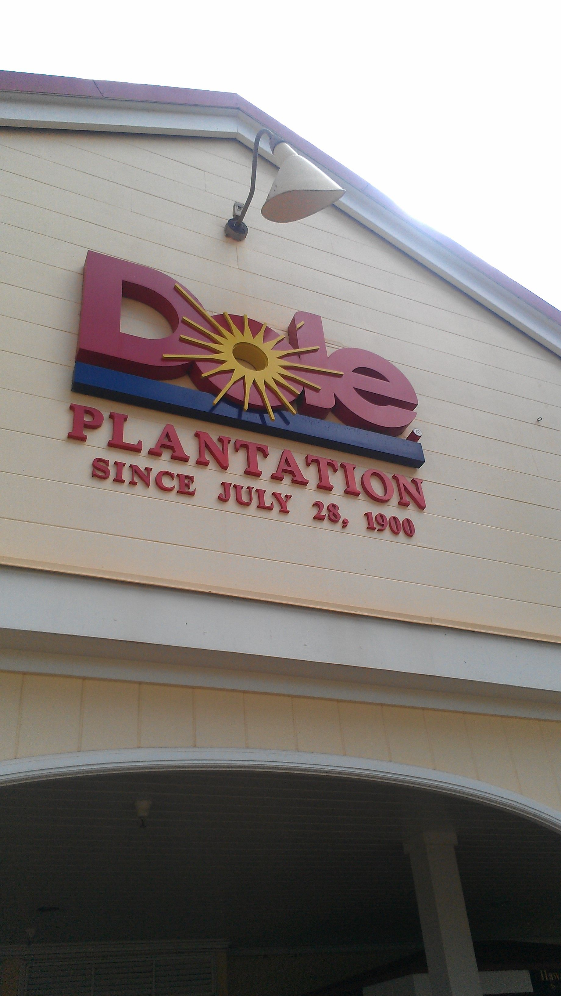 Stopped by the Dole plant, which has the world's largest maze. Amazing!