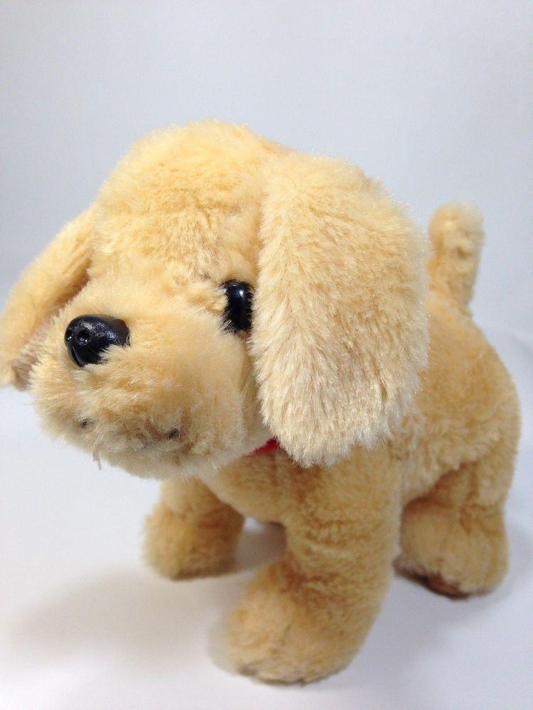 Biscuit Little Yellow Puppy Dog Plush Golden Retriever Kids