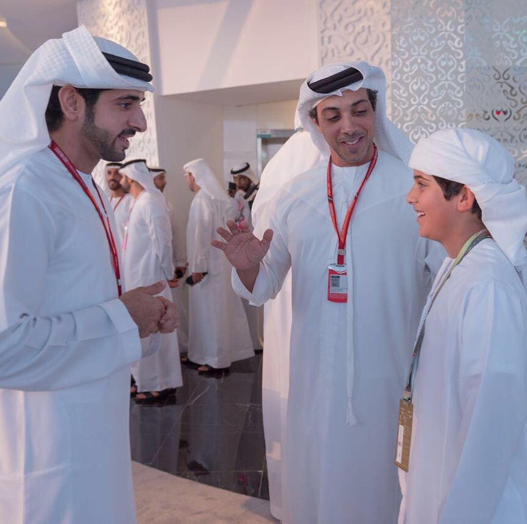 Hamdan Bin Mohammed Bin Rashid Al Maktoum Mansour Bin Zayed Bin Sultan Al Nahyan Y Mohammed Bin Mansour Bin Zayed Al Nahyan 1 Royal Prince Royal Royal Family
