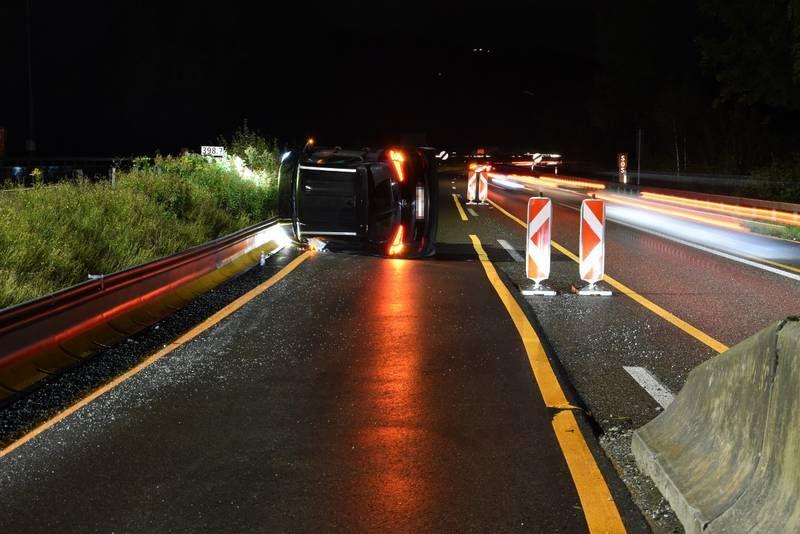 Unfall A1 Gestern Abend