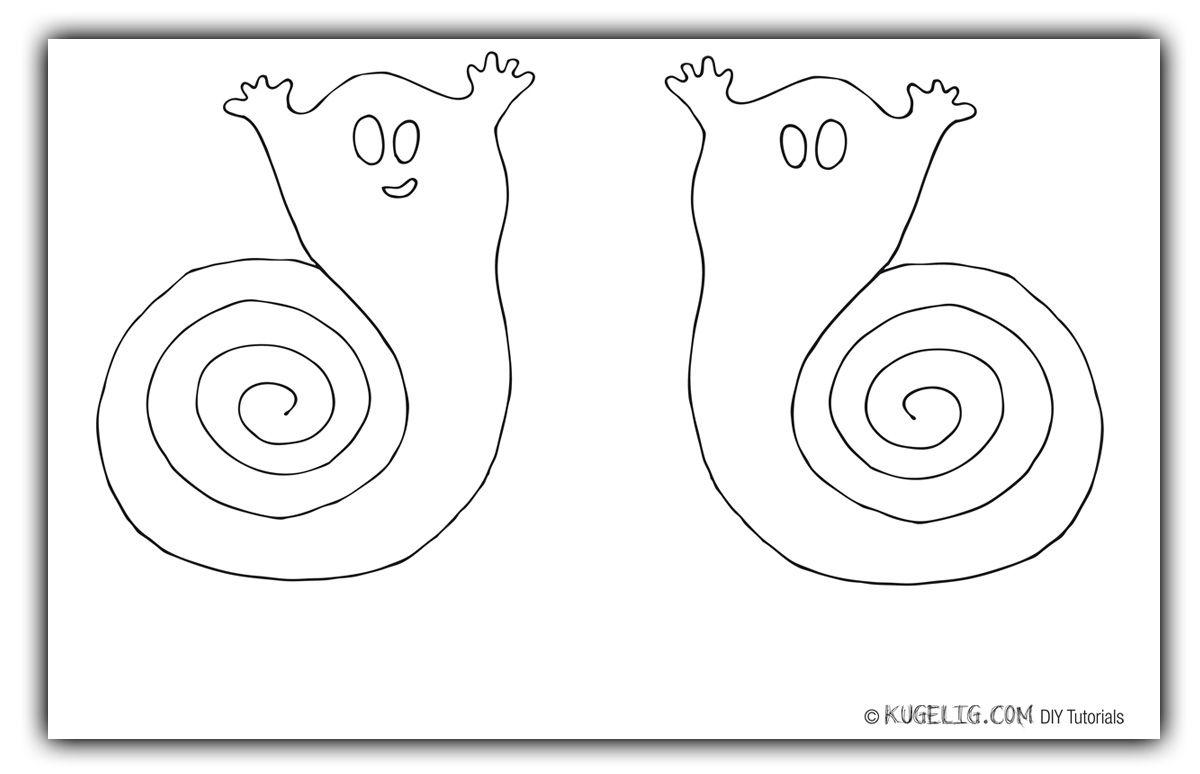 halloween geister spiralen bastelvorlage plotterfreebie. Black Bedroom Furniture Sets. Home Design Ideas