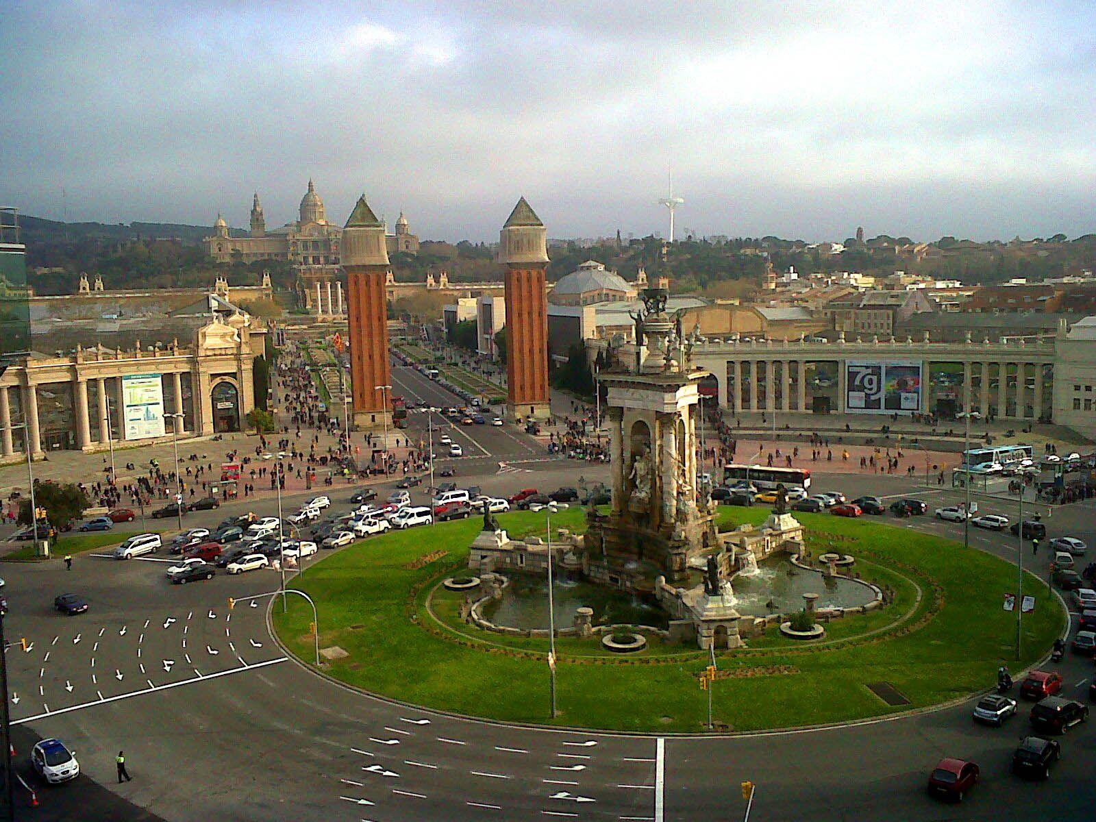 Vistas Desde La Terraza De Las Arenas De Barcelona Barcelona Ciudad Barcelona Ciudades
