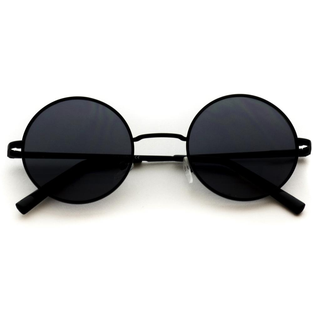 48180a232fc Retro Round Metal Hippie John Lennon Inspired Sunglasses Classic pair of small  round sunglasses to add a retro feel to your outfit!