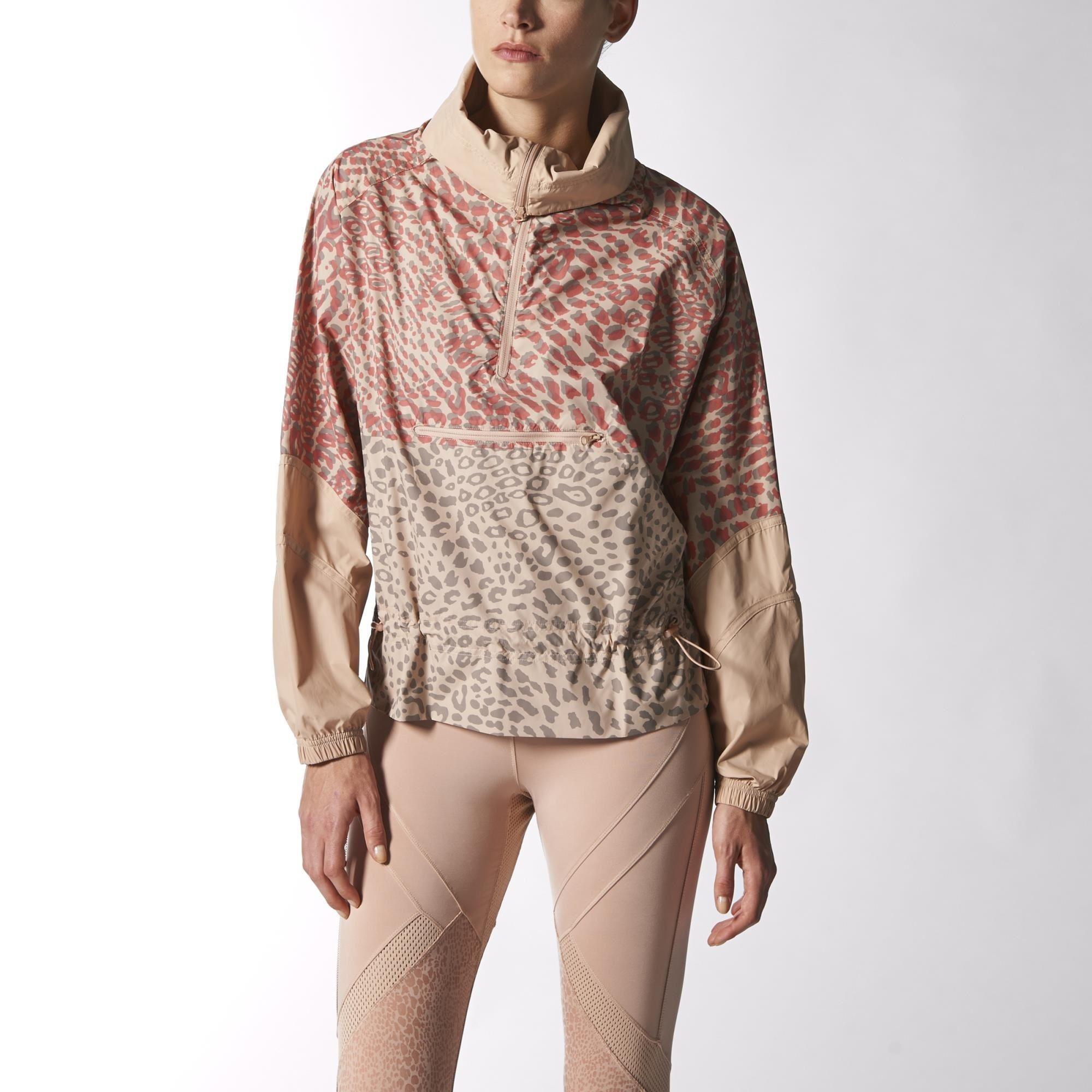 fe488411e1a07 adidas - Chamarra Rompevientos Essentials Stella McCartney Mujer ...
