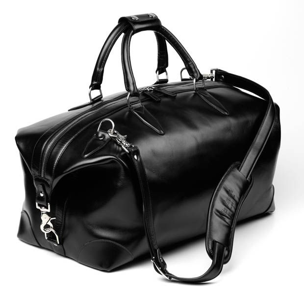 5d7a7a484f 4 Black Leather Duffle Bag collection (4)