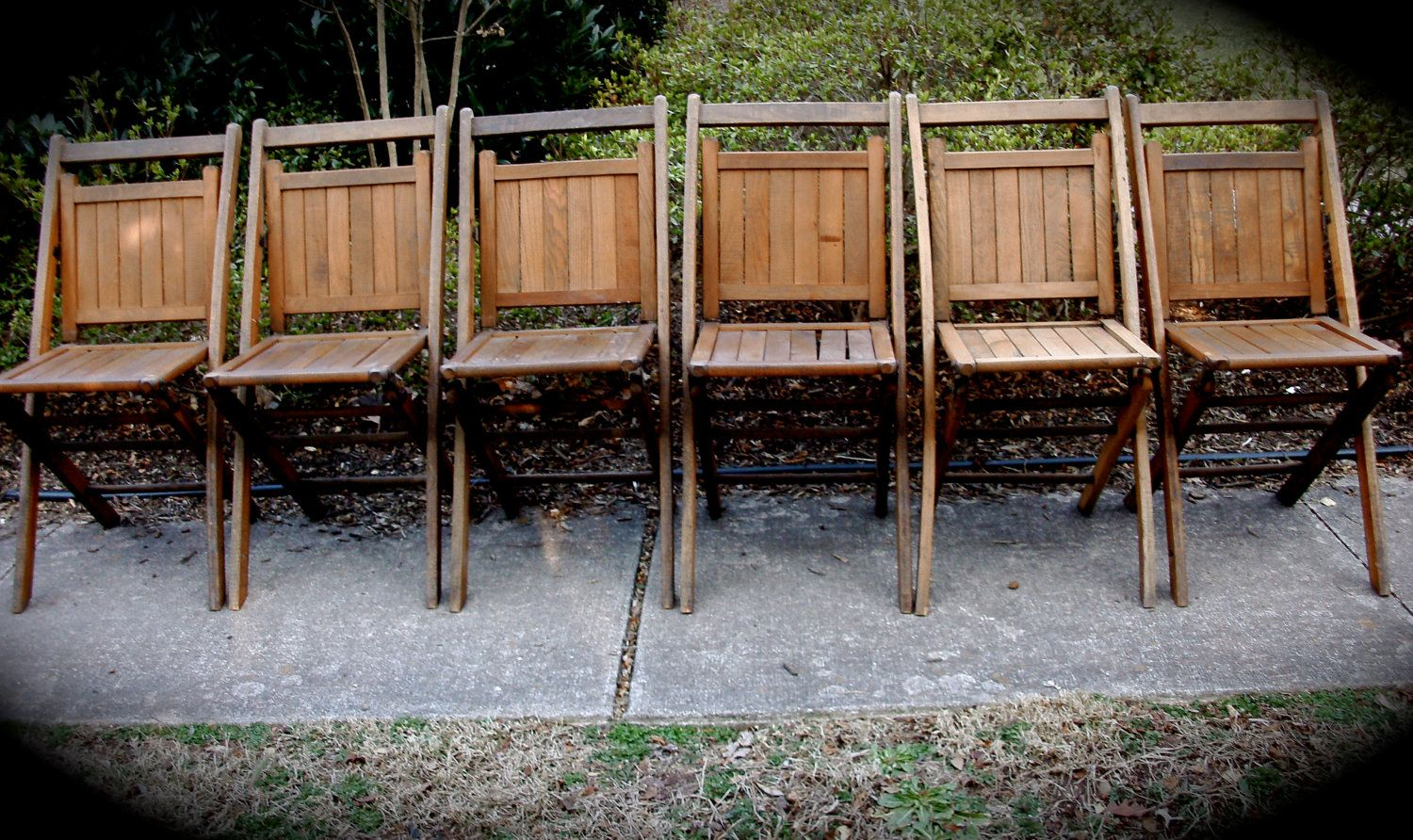 I have three and need three more like these. Wooden Folding Chairs - Set Of - Antique Wood Folding Chairs Antique Furniture