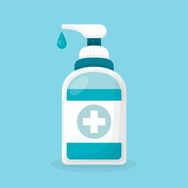 Download Flat Design Hand Sanitizer For Free