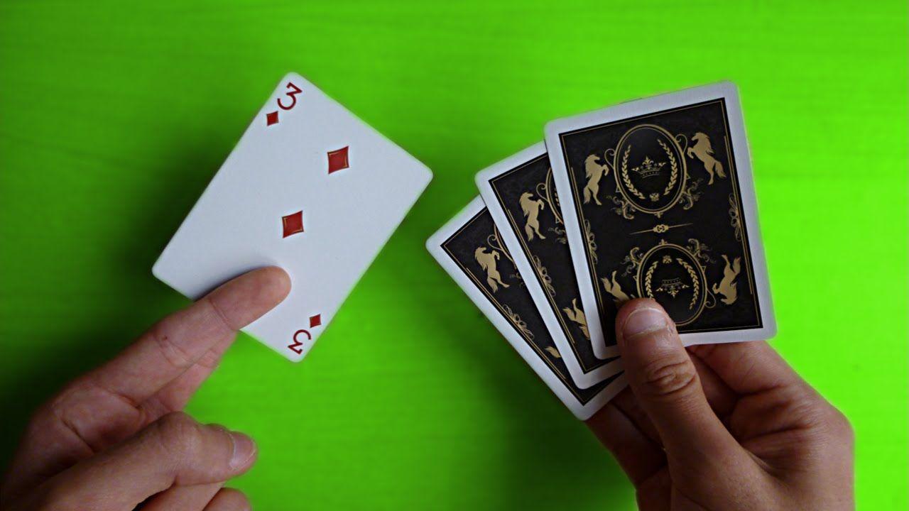 Le Tour De Cartes Le Plus Facile On Ne Peut Pas Le Rater Youtube Cartes Tour De Magie Magie Facile