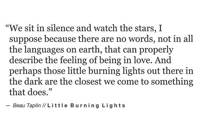 To Love Is To Burn