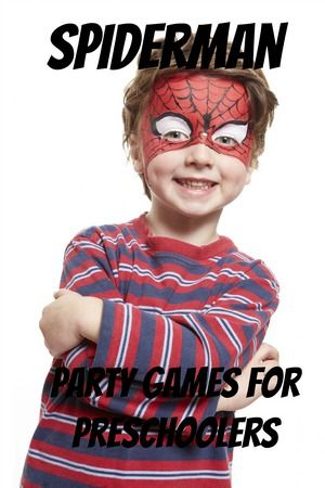 Amazing Spiderman Party Games For Preschoolers