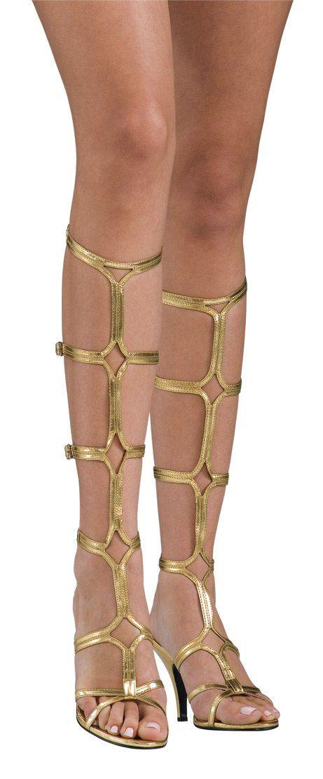 45fc126124421 Amazon.com  Rubie s Costume Goddess Sandals  Costume Footwear  Clothing