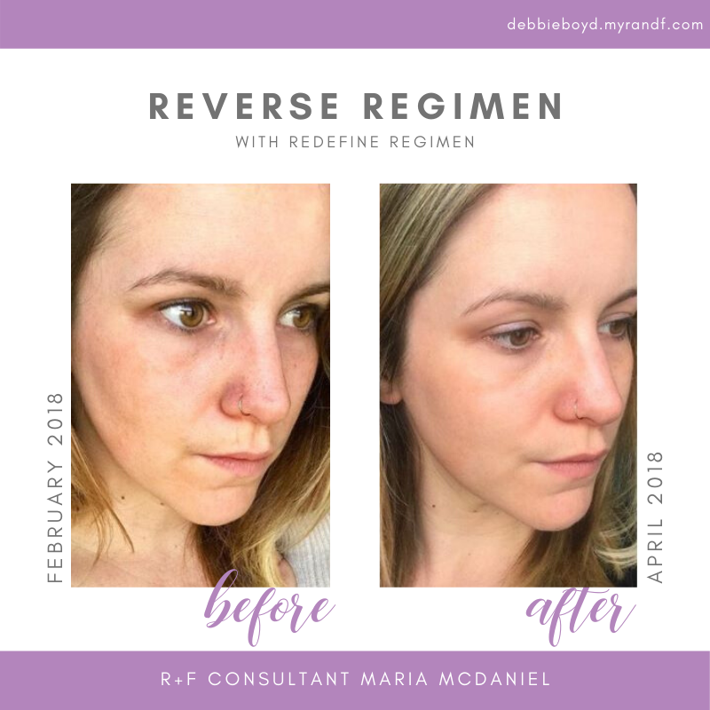R F Reverse Regimen Results Skincare Before And After In 2020 Glowing Skincare Skin Care Healthy Skin Care
