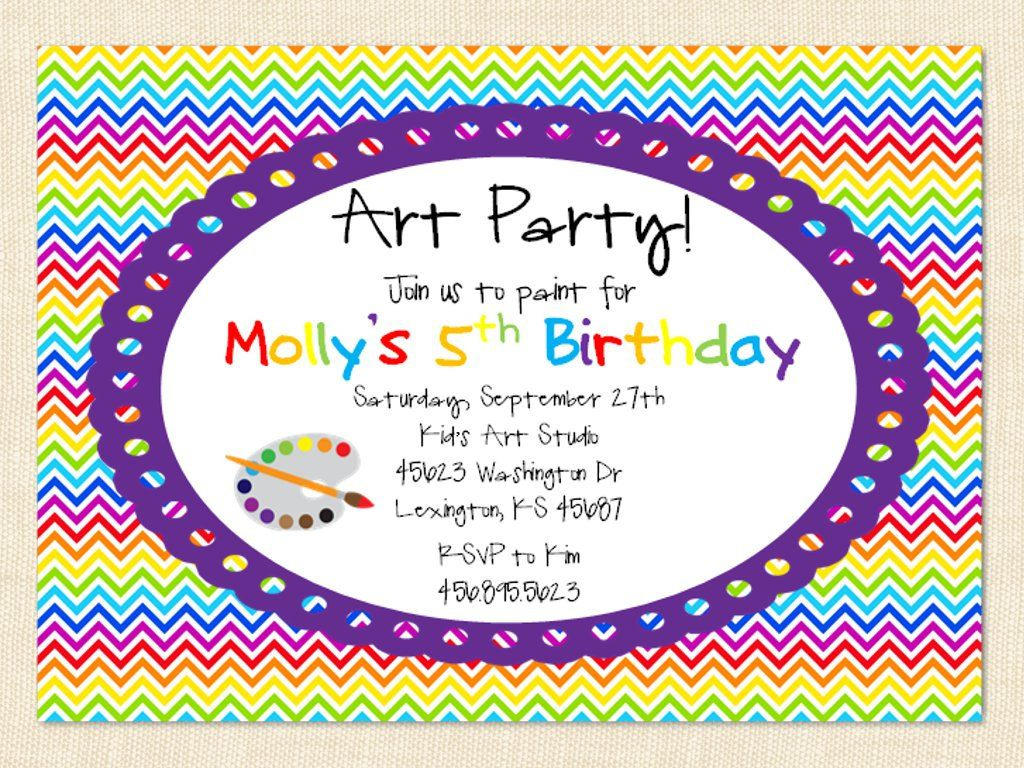 Create Own Party Invitation Wording Designs | Invitstiond by Own ...