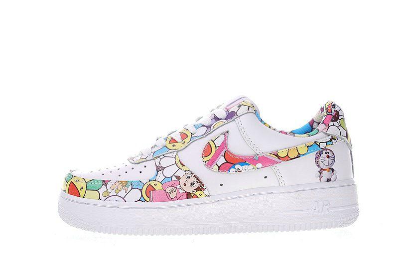 Takashi Murakami X Doraemon X Nike Air Force 1 Low Sneaker  a49c99373