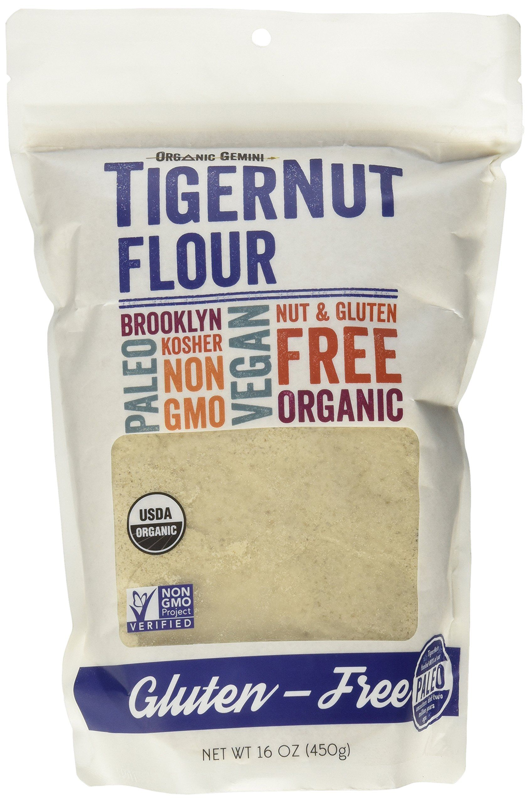 TigerNut Flour (1 Pound) | Gluten-Free | Tigernut flour