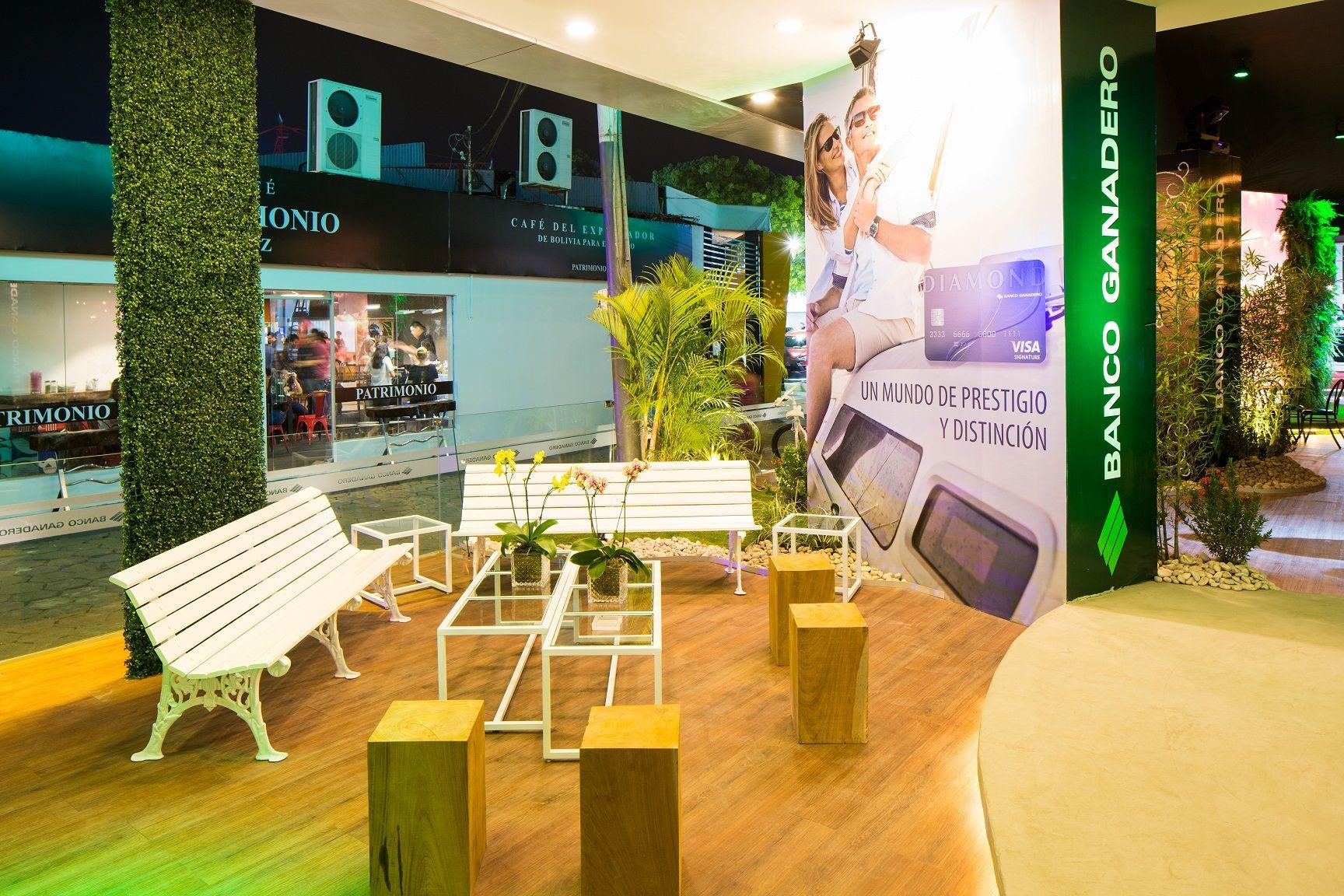 Decoraci N Quito Velasco Stand Banco Ganadero En Expocruz 2017  # Muebles Velasco