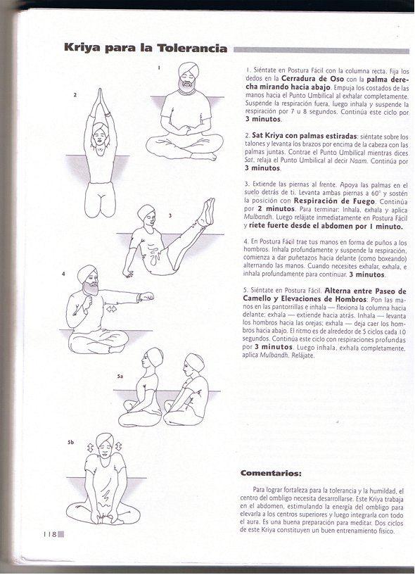 Kriya para la Tolerancia – yogasomostodos | kundalini | Pinterest