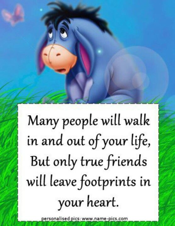 eeyore quotes about friendship