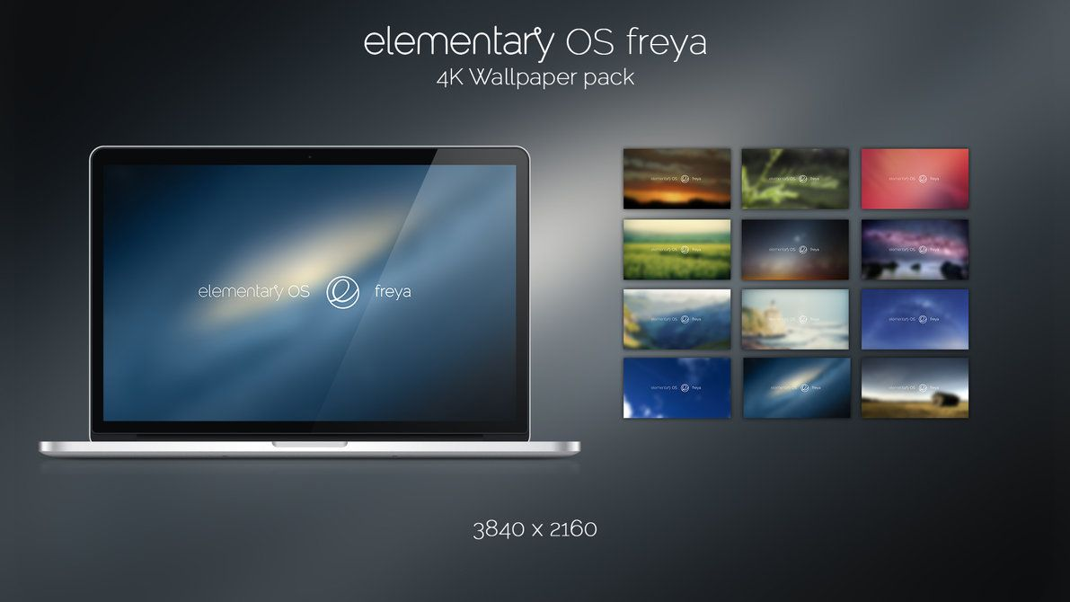 Elementary OS Freya 4K Wallpaper Pack by Cazatormenta