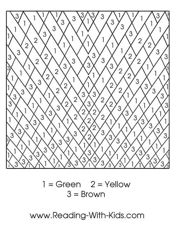Color By Number Coloring Pages Color By Numbers Coloring Pages Color By Number Printable