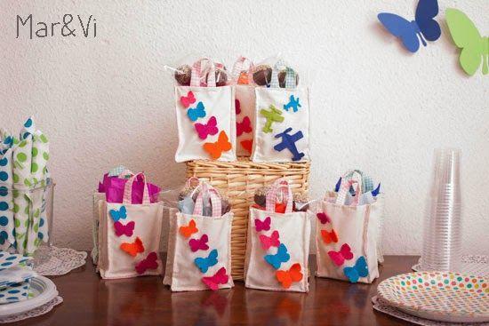 Detalles para cumplea os infantil de mariposas fiesta - Detalles para cumples infantiles ...