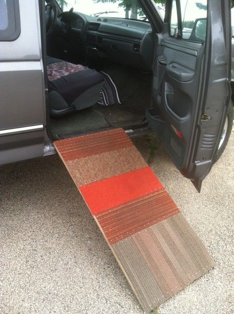 How To Make A Dog Ramp For Truck Quickly And Cheap Home Made For