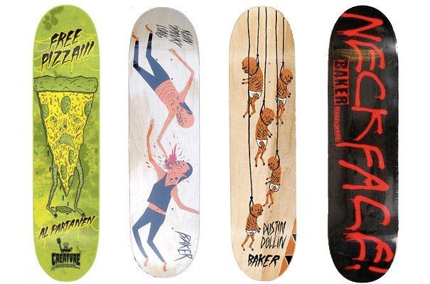 Artist Designed Skateboards | Art for Sale | Artspace