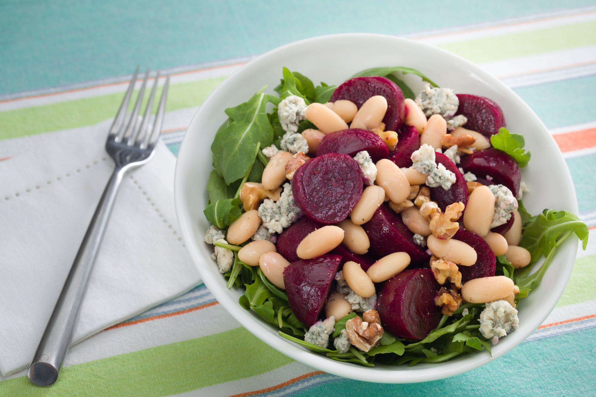 Beet And White Bean Salad With Images White Bean Salad White
