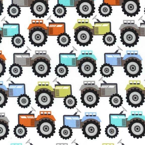 Sew Scrumptious Fabrics - Tractor Trails, �3.20 (http://www.sewscrumptious.co.uk/tractor-trails/)