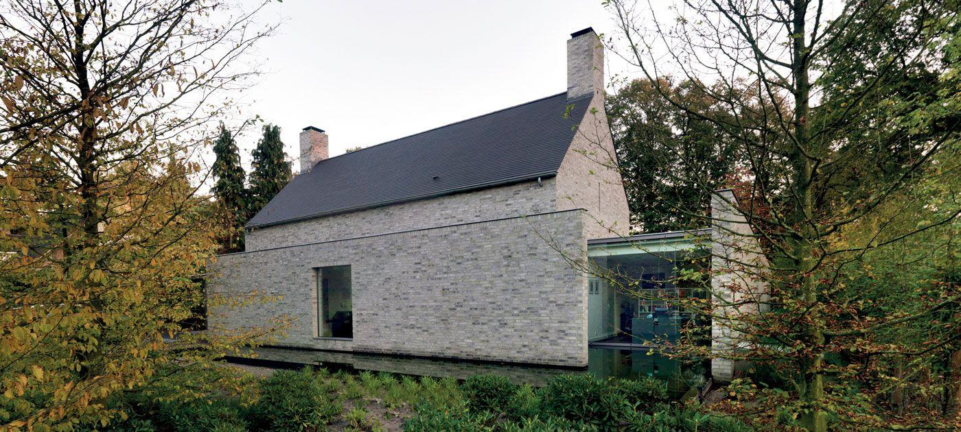 Exterior modern siding window design  slim frame contemporary metal windows  pale sandstone