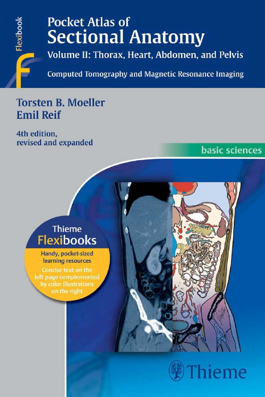 Pocket Atlas Of Sectional Anatomy Computed Tomography And Magnetic