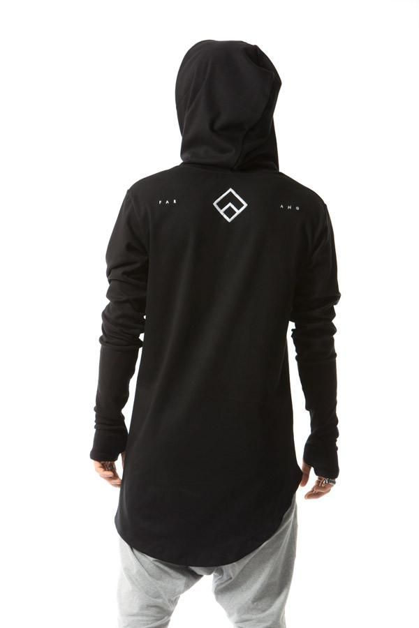 e46787b3 CENTRAL - HOODIE - (BLACK) Zen Shimada Team Farang Parkour and Freerunning  Clothing