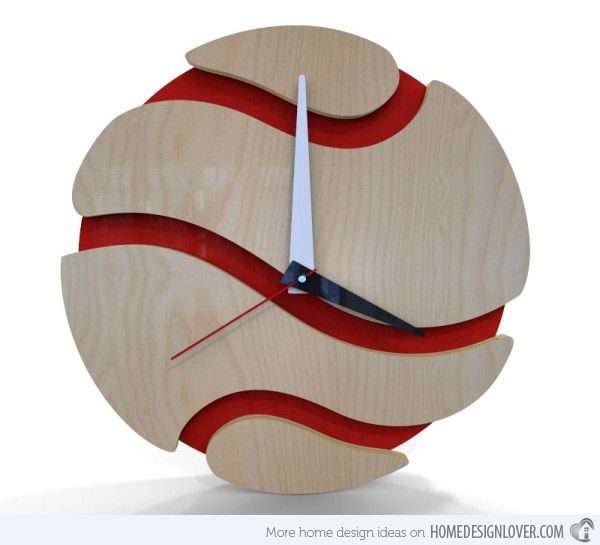 15 modern wall clock designs good for wall decor - Modern Designer Wall Clocks