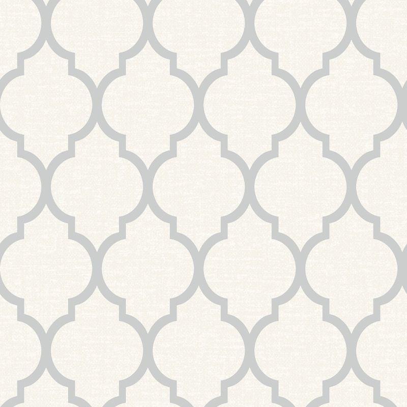 Orient Wallpaper Silver Diy B M B M Wallpaper Trellis Wallpaper M Wallpaper