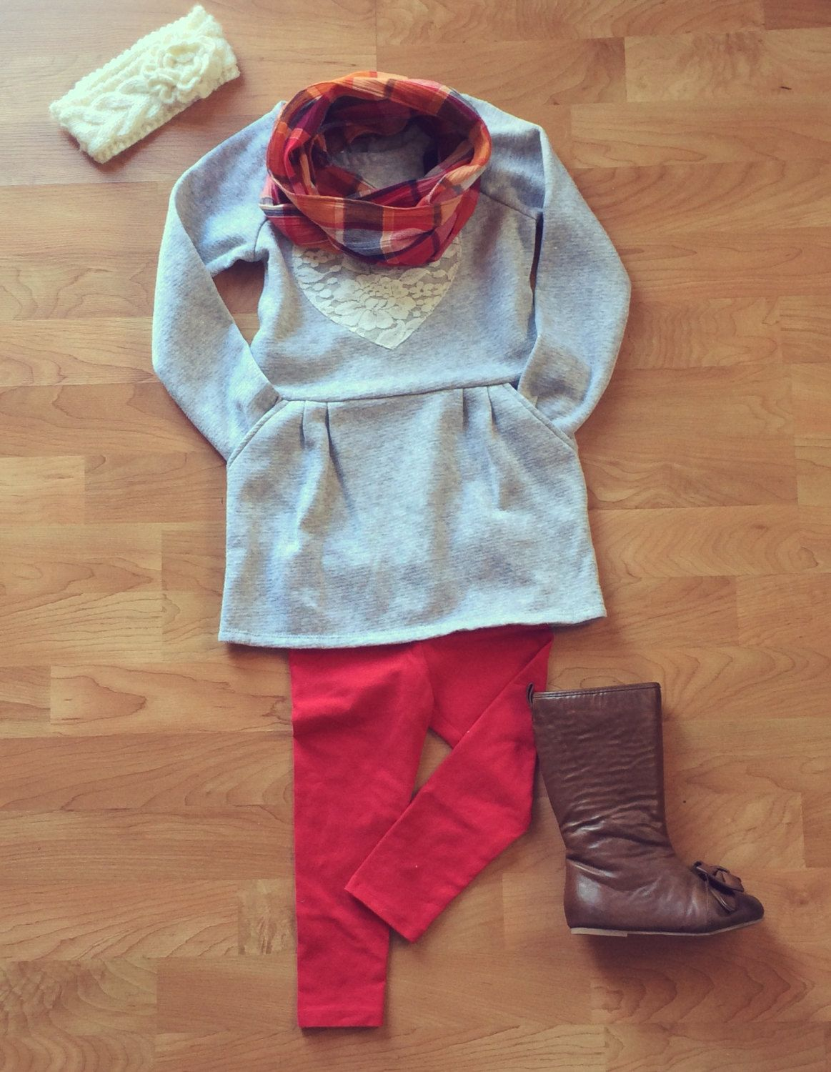 Holiday Outfit/ Toddler Infinity Scarf//Fall/ Toddler ...