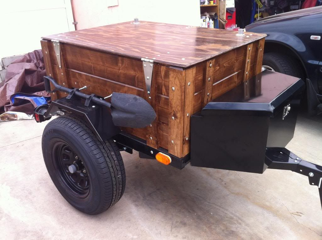Mini Harbor Freight (type) Trailer Ultimate Build-Up Thread - Page