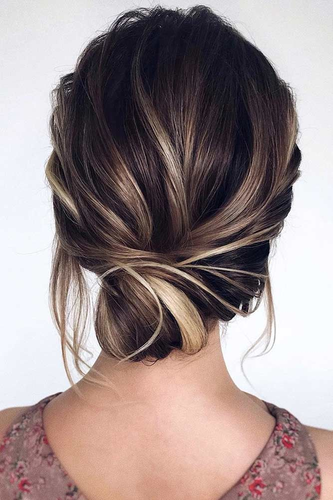 30 Pretty Prom Hairstyles For Short Hair Lovehairstyles Com Easy Wedding Guest Hairstyles Prom Hairstyles For Short Hair Guest Hair