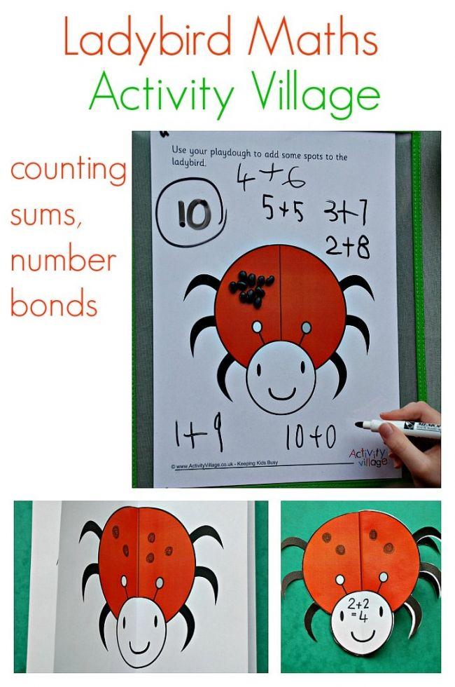 Ladybird maths ideas from Activity Village | Homeschooling UK ...