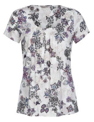 ff6ebe84b1c0eb Ladies Tops, T-Shirts & Blouses | Marks & Spencer | Fashionista ...