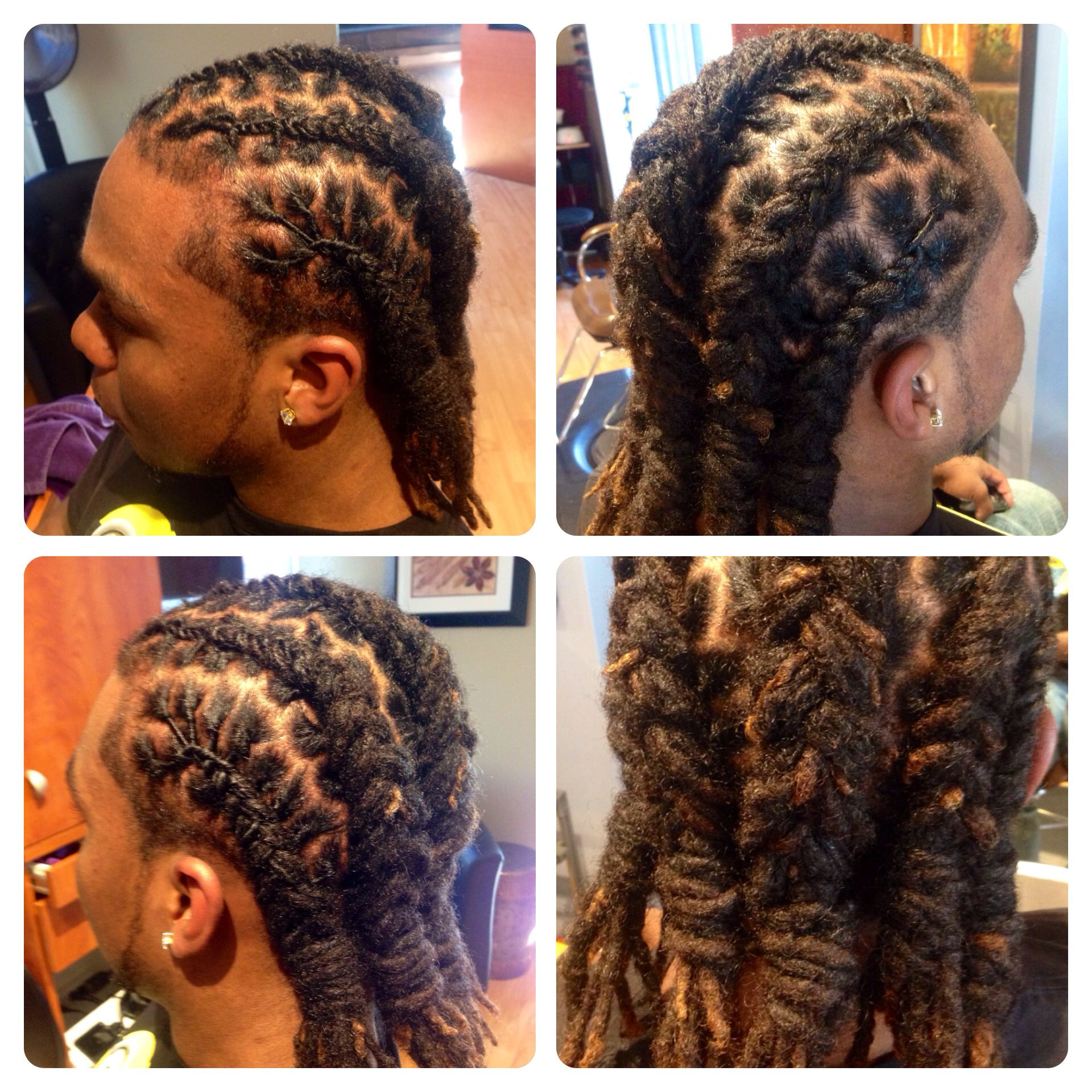 Loc Hairstyles For Men Loc Styling For Men  Divaliscious  Pinterest  Locs Dreads And