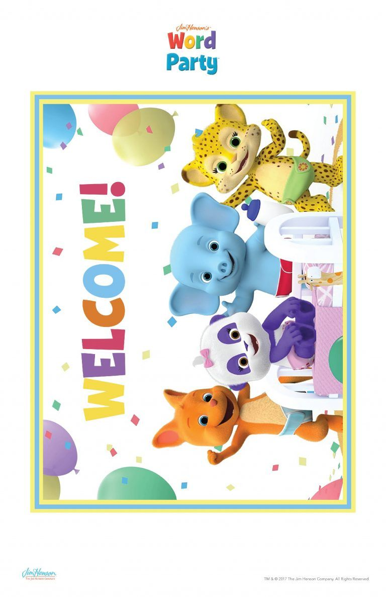 word party birthday party printables word party pinterest